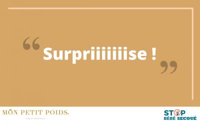 La surprise de Mon Petit Poids